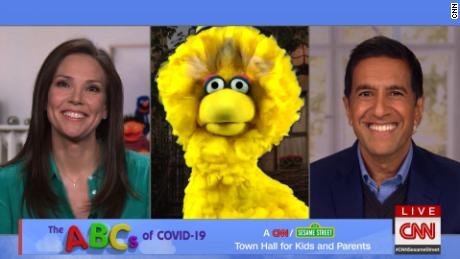 Best moments from CNN and Sesame Street's coronavirus town hall for kids and parents