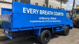 Lifebank is providing coronavirus drive-through mobile test centers in Nigeria