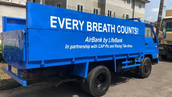 Airbank oxygen deliveries will be made in vehicles like this for coronavirus patients