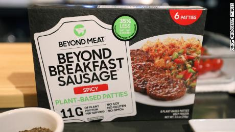 Meat shortage and China deals send Beyond Meat's stock spiking