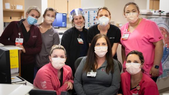Staff at Margaret Mary Health.