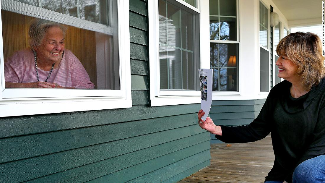 As Covid-19 lurks, families are locked out of nursing homes. Is it safe inside?