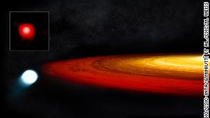 This star survived a close call with a black hole. Eventually, it will become a planet