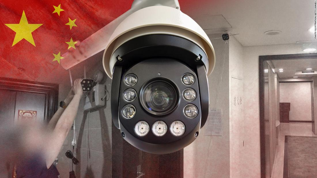 China is installing surveillance camera outside people's front doors ... and sometimes inside their homes