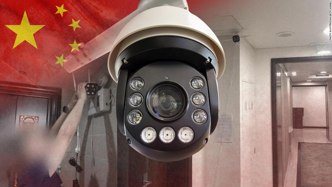 China is installing surveillance cameras outside people's front doors … and sometimes inside their homes