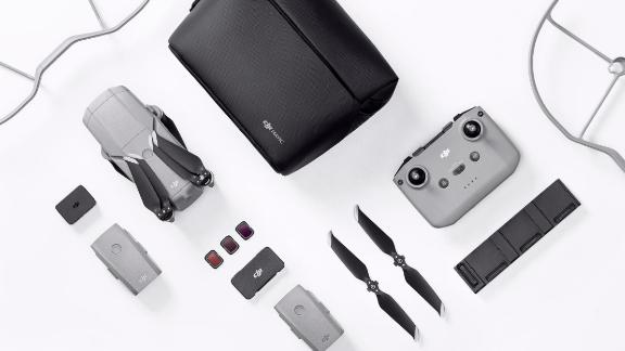 Pictured above is the DJI Mavic Air 2 Fly More Combo.