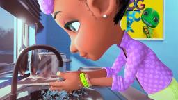 This animated monster is teaching children in Nigeria -- and around the world -- about coronavirus