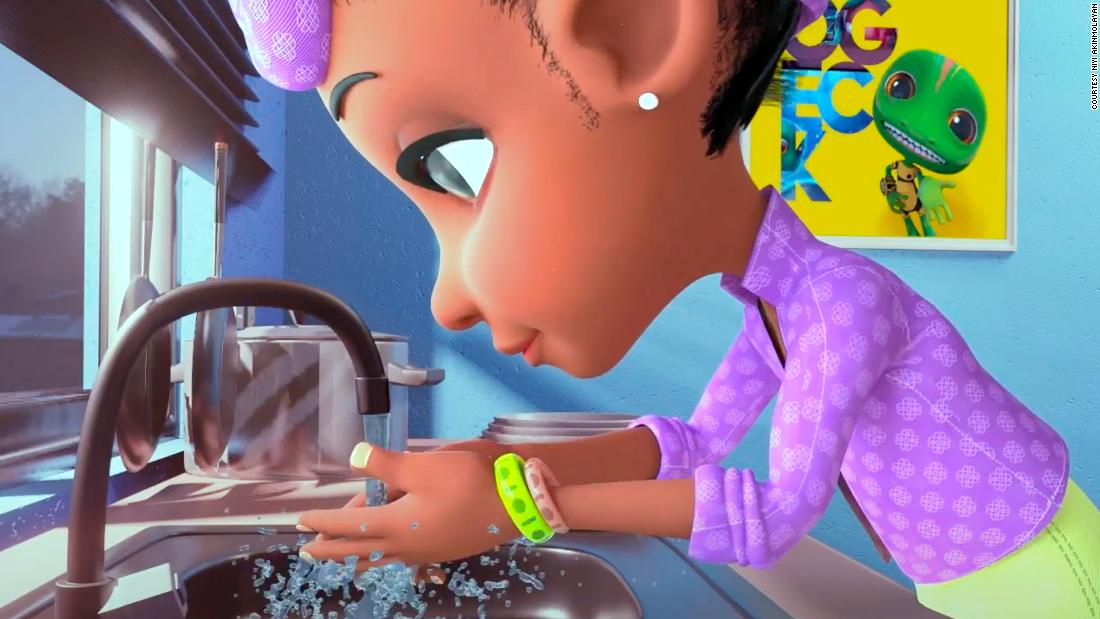 Nigerian filmmaker using animations to teach kids about coronavirus.