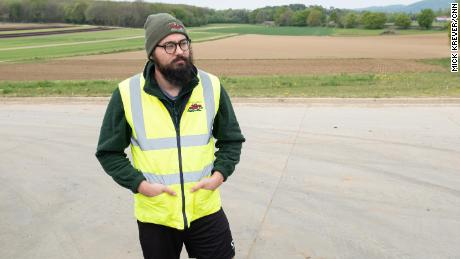 Daniel Martin, 32, was furloughed from his civil engineering job.