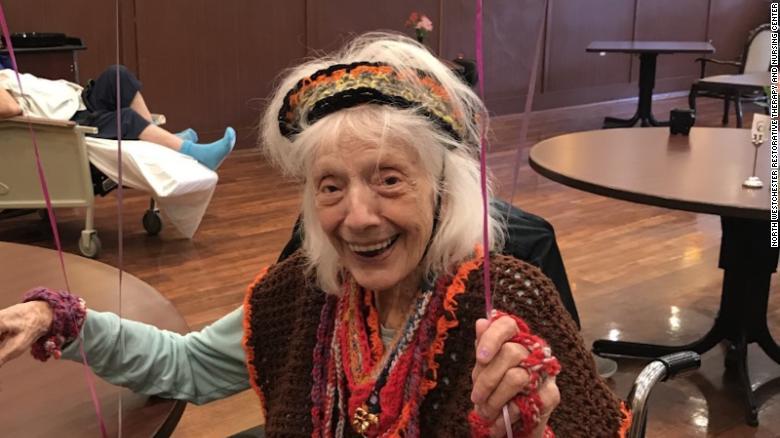Angelina Friedman celebrates her birthday.