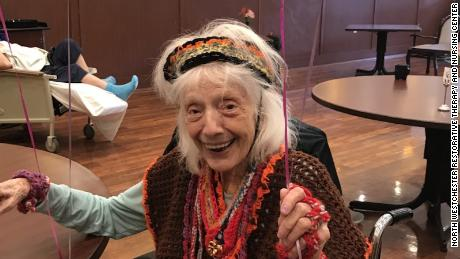Angelina Friedman celebrates her 101st birthday.