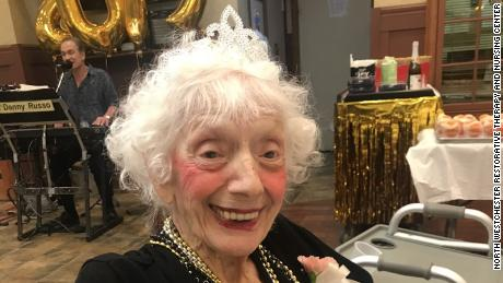 Friedman was named Prom Queen at the nursing home.