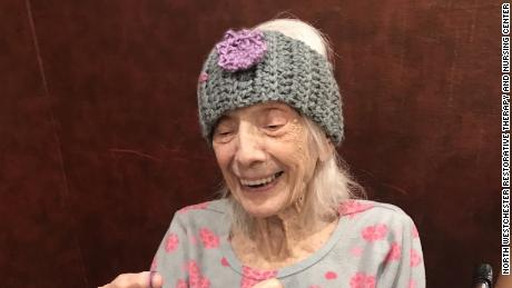 After beating coronavirus at 101 years old, Friedman started looking for some yarn so she could knit.