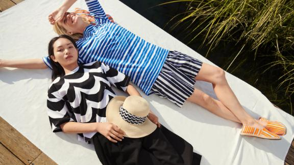 Uniqlo x Marimekko UV Protection Paper Hat