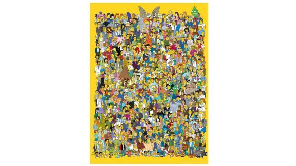 The Simpsons Cast 1000 Piece Puzzle