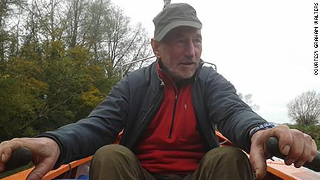 Graham Walters has now rowed across the Atlantic five times -- three of them solo.