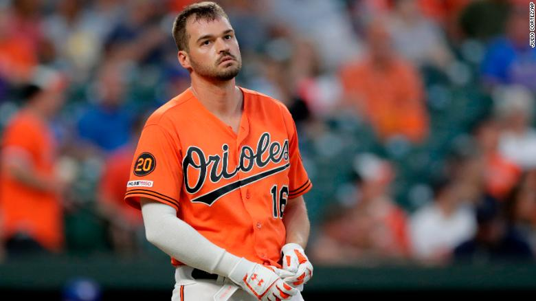 Baltimore Orioles' Trey Mancini has been diagnosed with colon cancer.