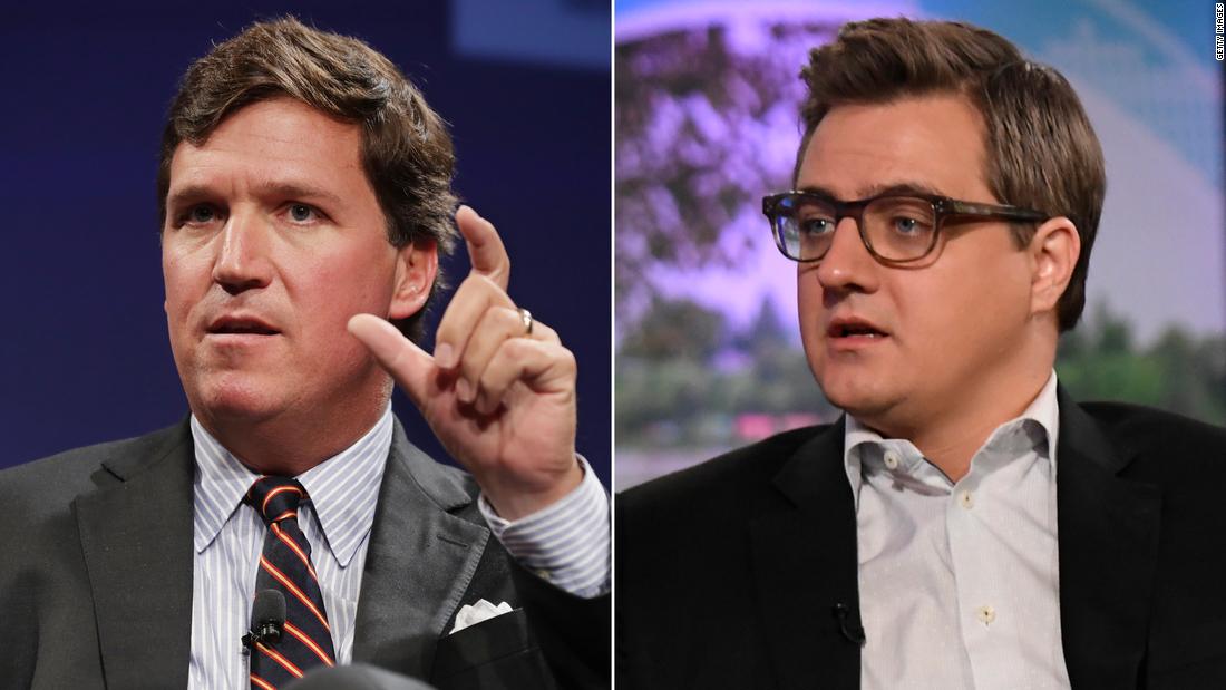 A look at the Fox News/MSNBC mirror