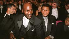 जॉर्डन आणि मोहम्मद अली 1999 मध्ये एकत्र.