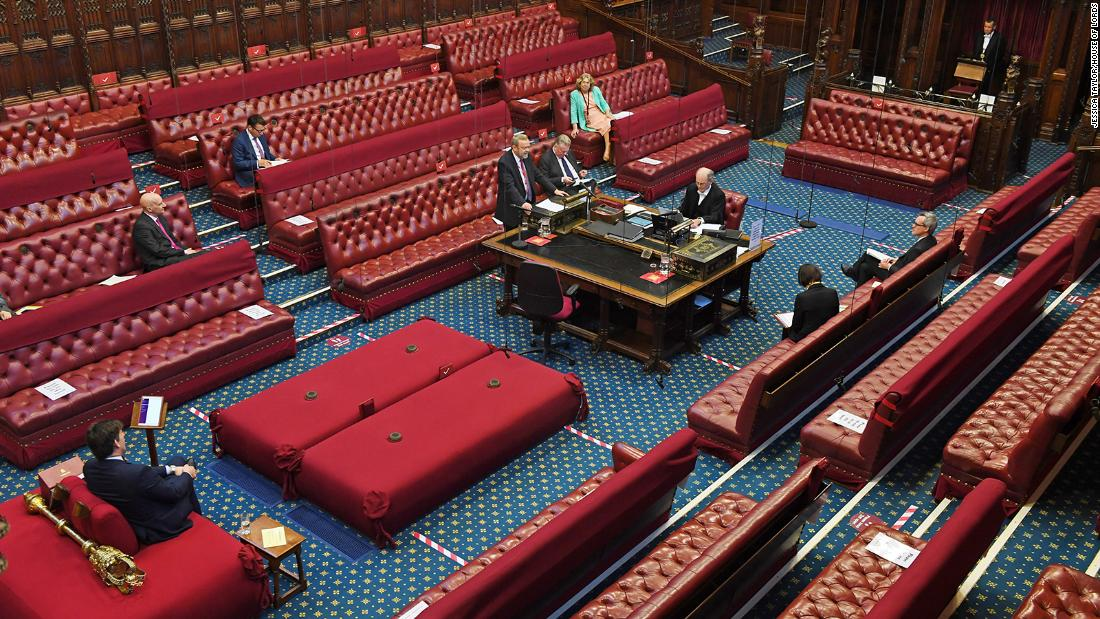 Uk House Of Lords Cuts Livestream After Accidentally Broadcasting