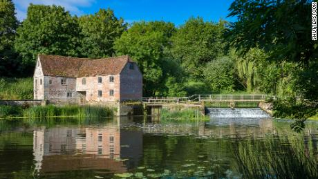 Sturminster Newton Mill sits on the River Stour.