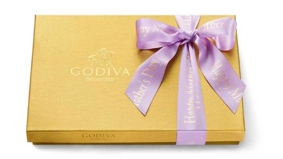 Mother's Day Assorted Chocolate Gold Gift Box