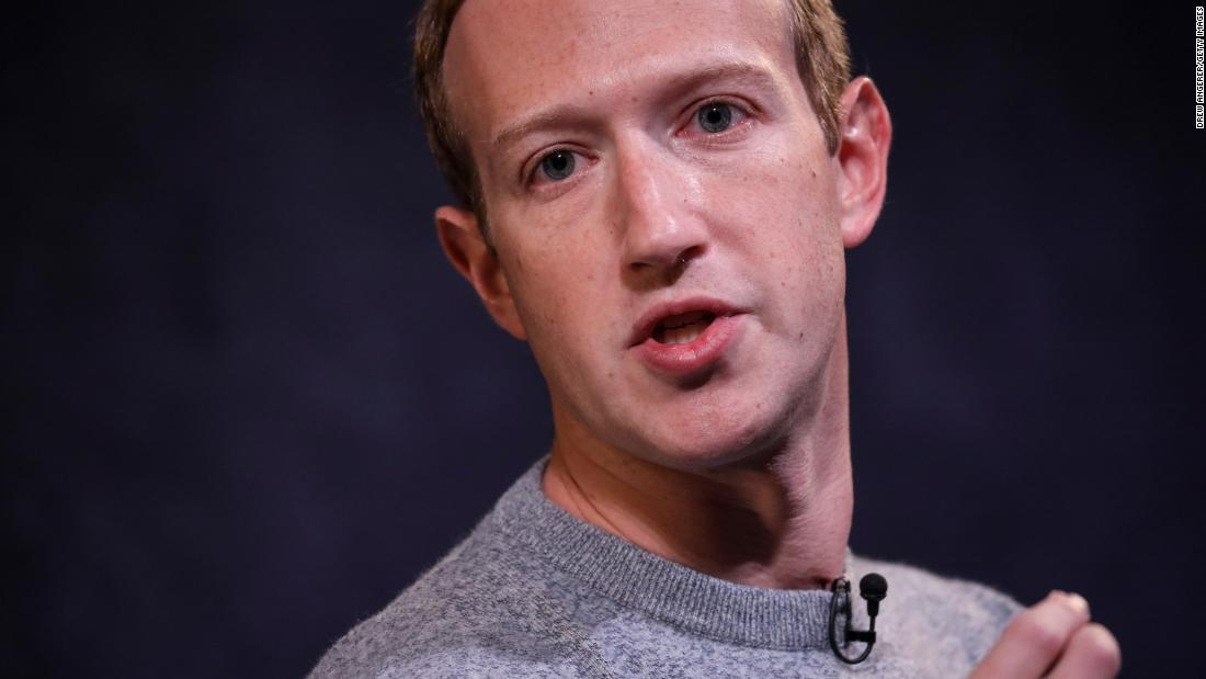 Facebook's Mark Zuckerberg says half of employees could be remote by 2030