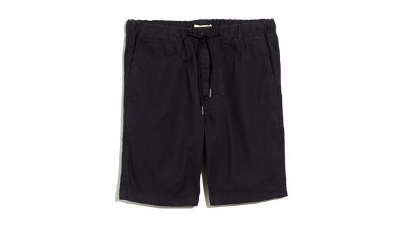 Madewell Garment Dyed Twill Drawstring Shorts