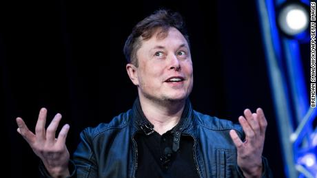 Elon Musk, founder of SpaceX, speaks during the Satellite 2020 at the Washington Convention CenterMarch 9, 2020, in Washington, DC. (Photo by Brendan Smialowski/AFP/Getty Images)