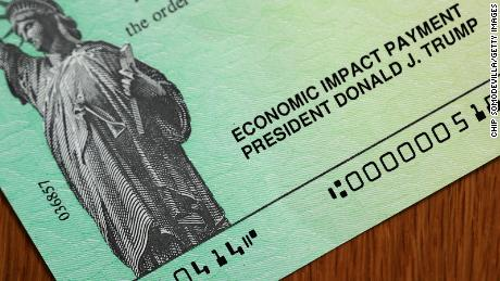 With Congress stalled, a second round of stimulus checks won't be coming anytime soon