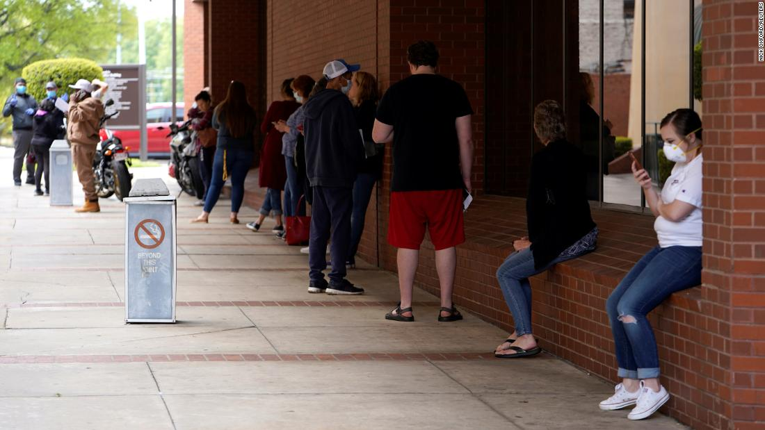 Coronavirus economy 30 million in the US have filed for unemployment since mid-March