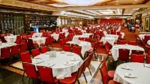 Jing Fong's massive dining room, shown here a year ago, is usually bustling with customers, but after business slowed, it closed in mid March. (Jing Fong Restaurant)