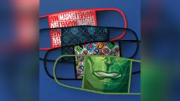 Disney's new line of face masks features Baby Yoda, Hulk and more of your favorite characters