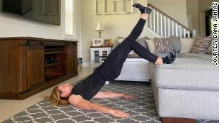 Try this couch workout and feel better about binge-watching TV