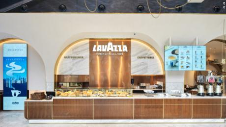 "Lavazza's new flagship store in Shanghai opened this week. The Italian company said it had ""been searching for the right opportunities"" to expand its brand in China. (Courtesy: Yum China)"