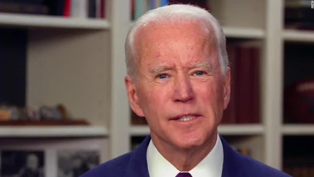 Biden says vice presidential committee 'looking at more than a dozen women'