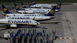 Ryanair will cut 3,000 jobs and keep 99% of flights grounded through June