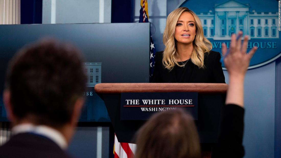 Fact check: New White House press secretary makes false claims in first briefing