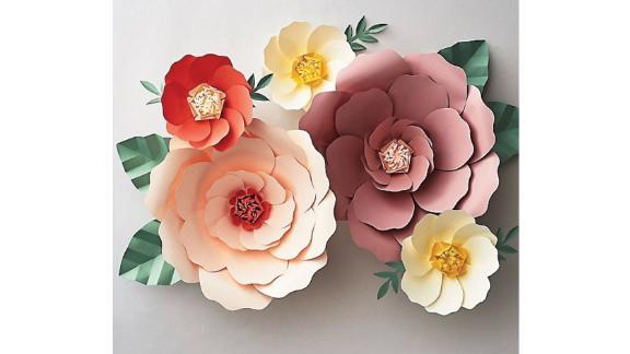 PS Design Big Bloom Paper Flowers