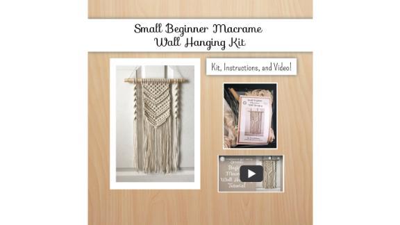 DIY Macrame Wall-Hanging Kit