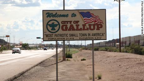 A lockdown of the city of Gallup, New Mexico has been extended until Thursday.