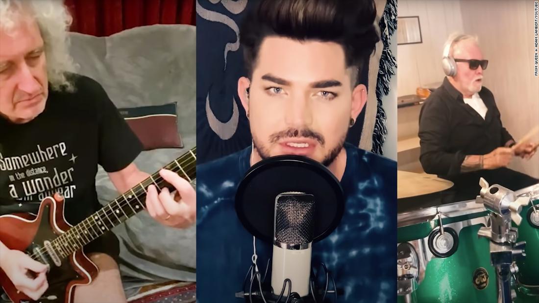 Queen and Adam Lambert reimagine classic song with