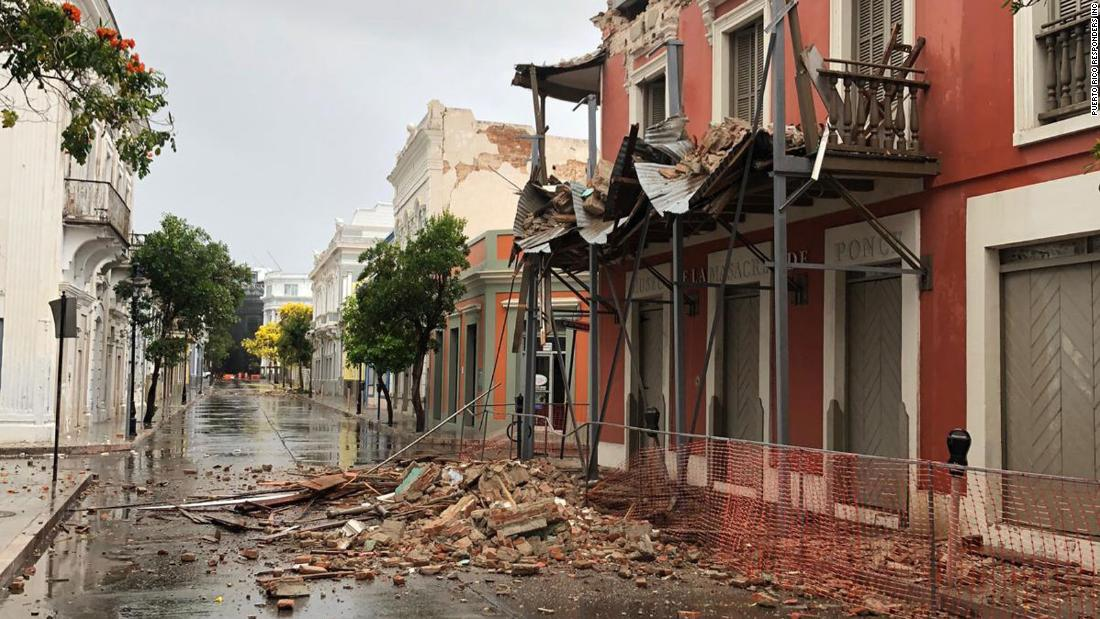 Earthquake rattles Puerto Rico, damages buildings