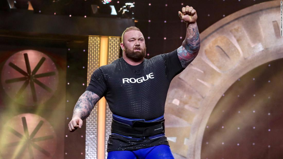 Hafthor Bjornsson, 'Game of Thrones' star, sets deadlifting record ...