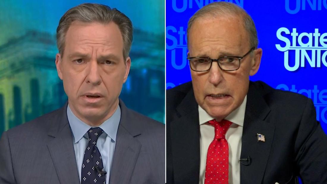 Tapper presses Kudlow: Why not take action now?