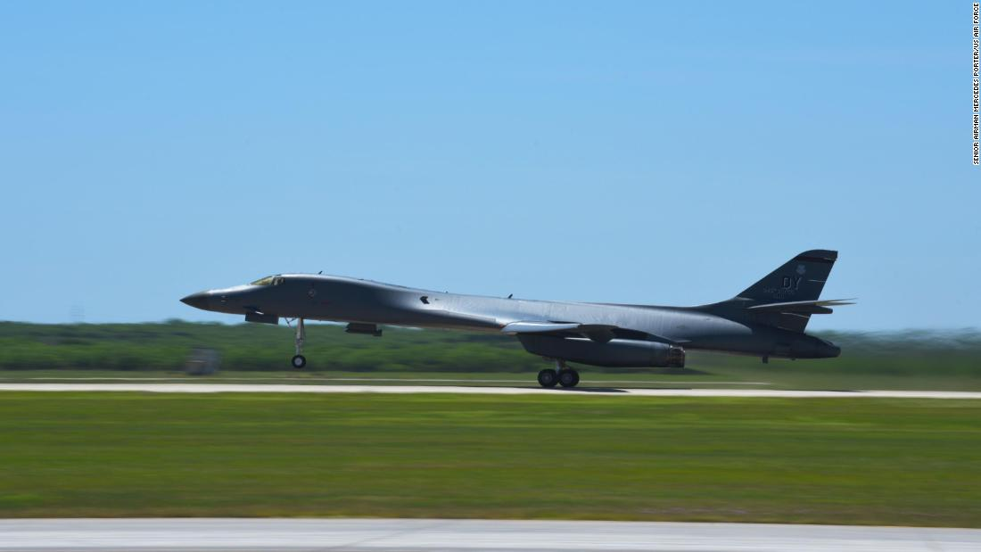US Air Force sends B-1 bombers back to Guam on temporary deployment