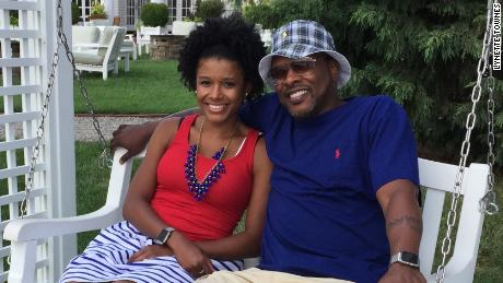 Lynette Townes and her husband Jeff Townes (DJ Jazzy Jeff.)