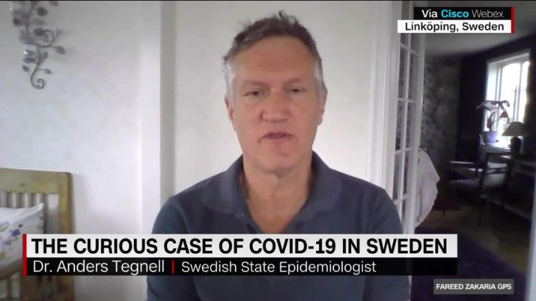 On Gps Why Sweden Never Locked Down Cnn Video