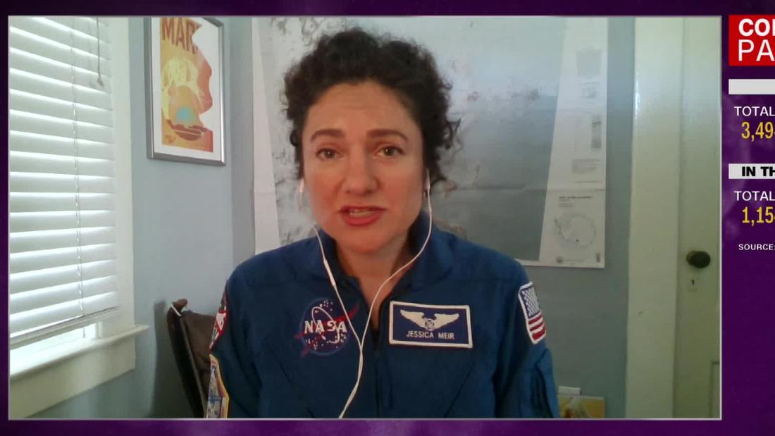 Hear how NASA switched up her landing protocol due to Covid-19