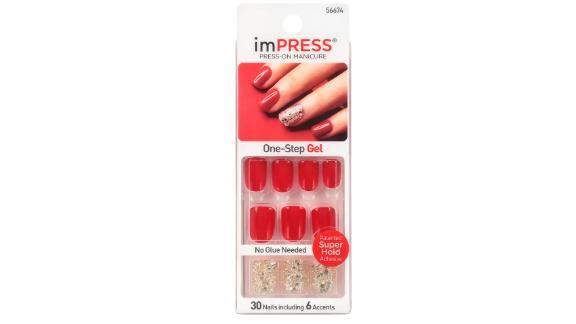 Broadway Nails Impress Press-On Manicure, Tweetheart